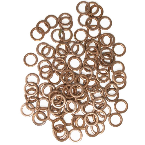 Pack of 100 Washers for Citroen and Peugeot Sump Plugs - Ideal for the workshop/garage.