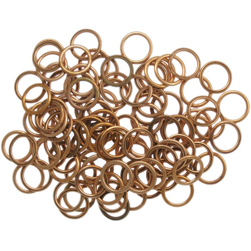 Filled Copper Sump Washers for Peugeot engined vehicles - SW12x100