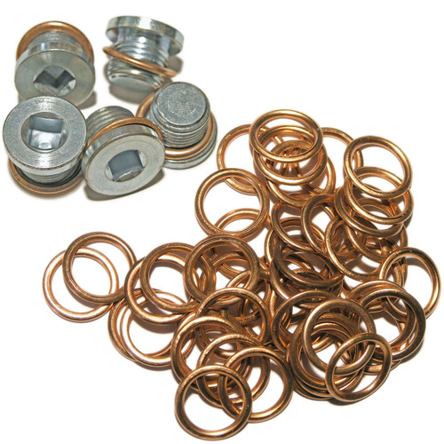 Peugeot Citroen Diesel - MAXI PACK 12:  5 Sump Plugs & 50 Washers - 163.93 - MP12