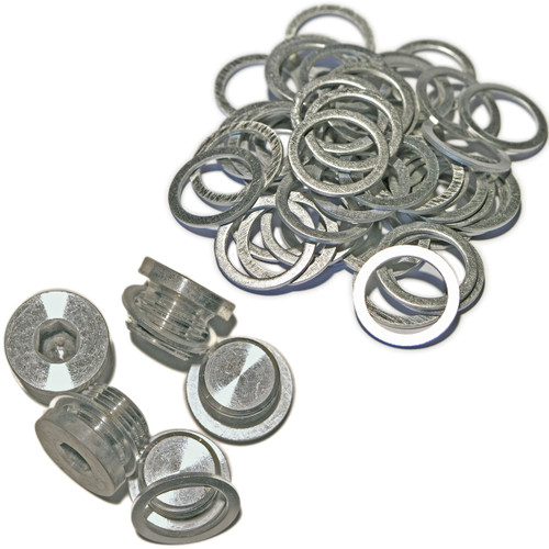 Porsche Boxster 996 997 - MAXI PACK 32 - 5 Sump Plugs & 50 Washers - 900 219 009 30 - MP32