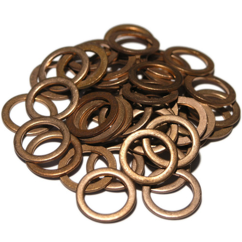 Mercedes  Chrysler 007603014106, SW7x50: 50 Pack of OE Replacement Copper Sump Washers