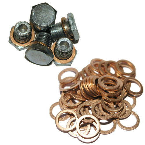 MP50 - Maxi Pack of 5 Sump Plugs and 50 Washers