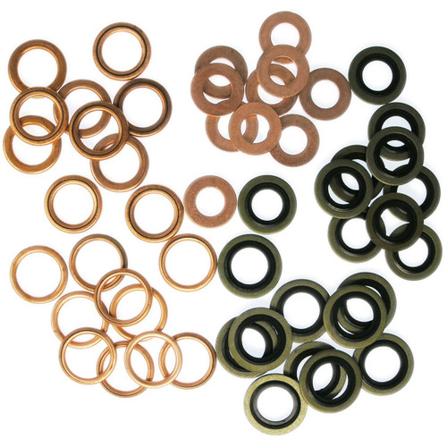 Peugeot Citroen Engine - 50 Oil Sump Washer Assortment Workshop Pack -  SWAP4