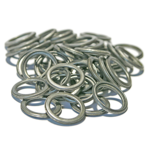 SW16Fx50 - Mild Steel Folded Washer 14 x 19 x 2 mm - 50 Pack