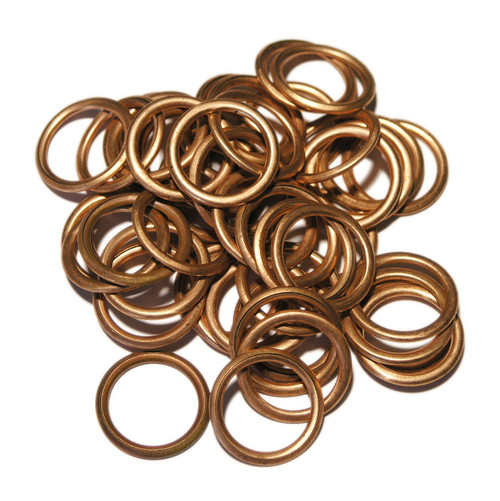 Renault 7703062063 - SW26x50, 50 Pack of OE Replacement Copper filled Sump Washers.
