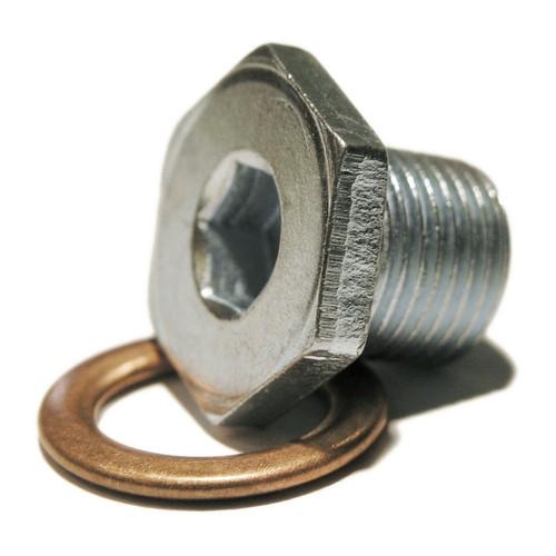 Oil Drain Plug - 21mm Hexagonal Head with 8mm Allen Key Insert