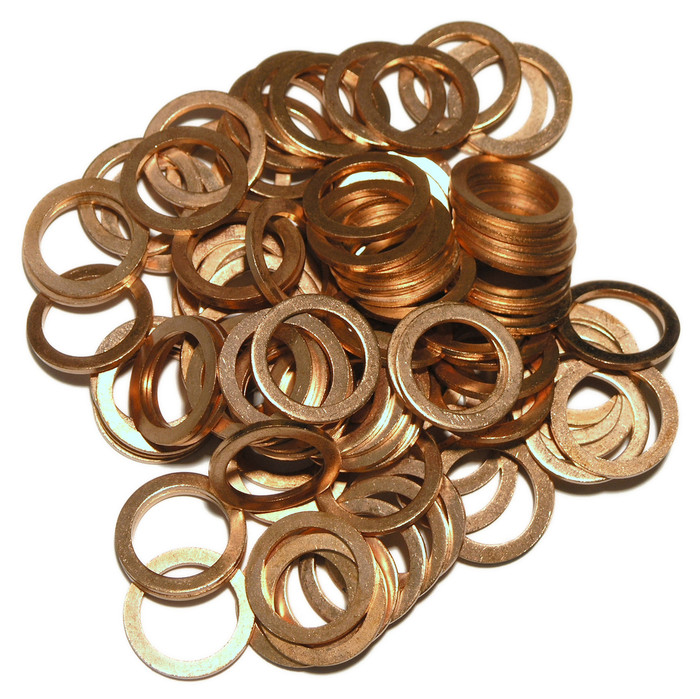 Copper  Washer to DIN 7603A 19 x 26 x 2