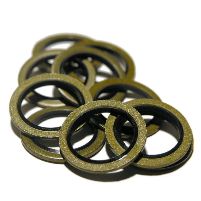 Bonded Seal Oil Sump Washers for Vauxhall and Saab 93183670 - Opel 0652 543