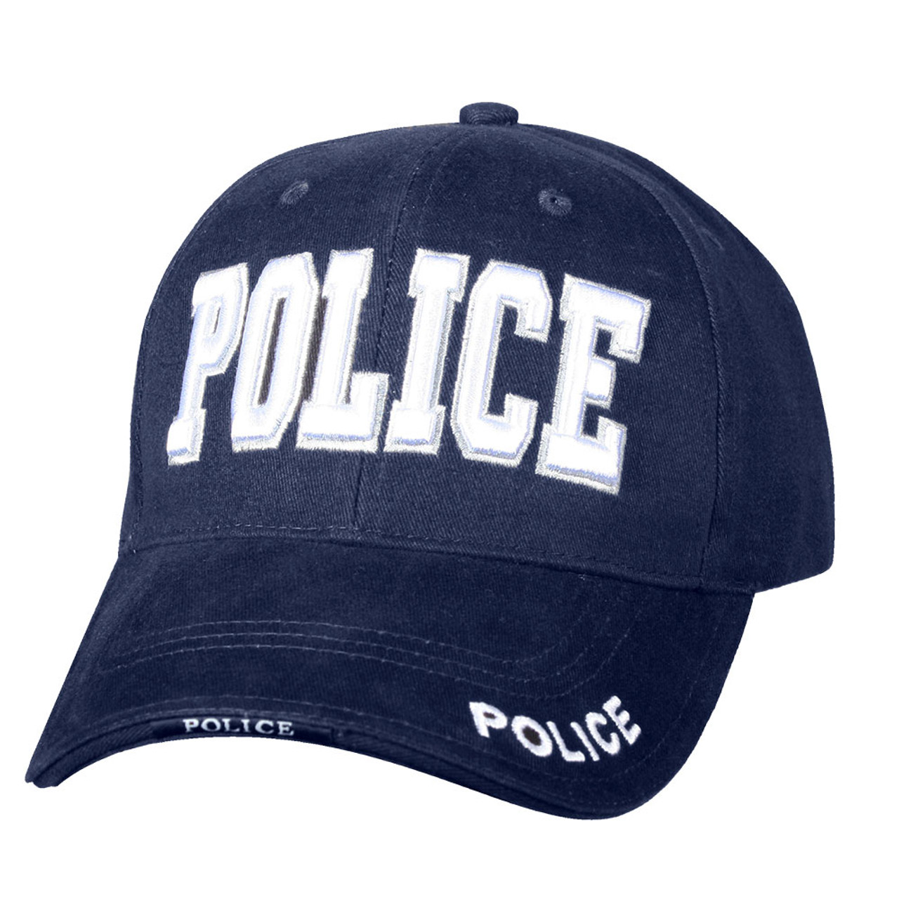 5c3f5e15881 Rothco Police Deluxe Low Profile Cap - Navy - Atlantic Tactical Inc