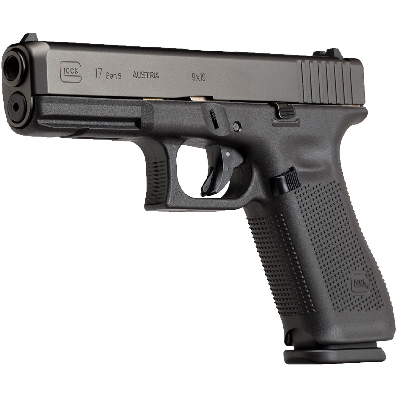 Glock 17 Gen5 Handgun with Fixed Sights - LE Only - PA1750200 - Atlantic Tactical Inc