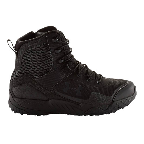 Under Armour Valsetz RTS Side-Zip Tactical Boot - Black