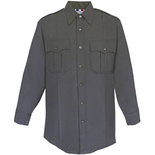 Fechheimer Men's Poly/Rayon Tropical Shirt - Long Sleeve
