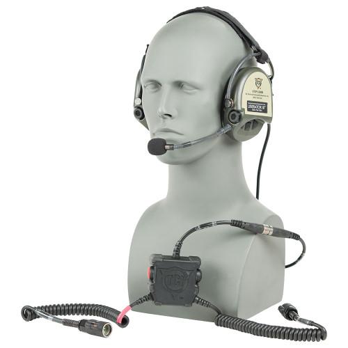 TCI Liberator III Dual Comm Headset