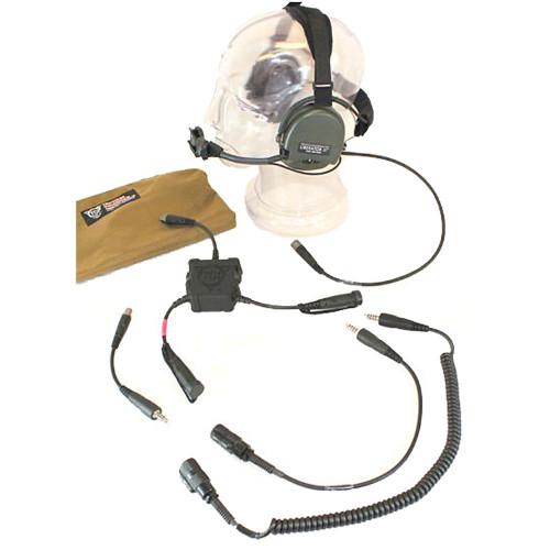 TCI Liberator III Dual Comm R.3 Headset