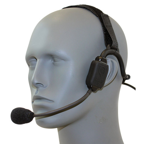 TCI TABC III Single Comm Bone Conduction Headset