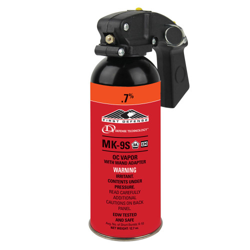 Def-Tec First Defense .7% MK-9S HV Vapor OC Aerosol with Wand Adapter