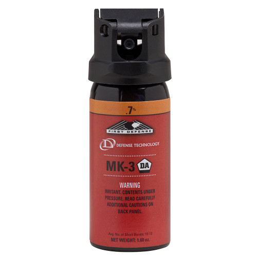 Def-Tec First Defense .7% MK-3 Cone OC Aerosol