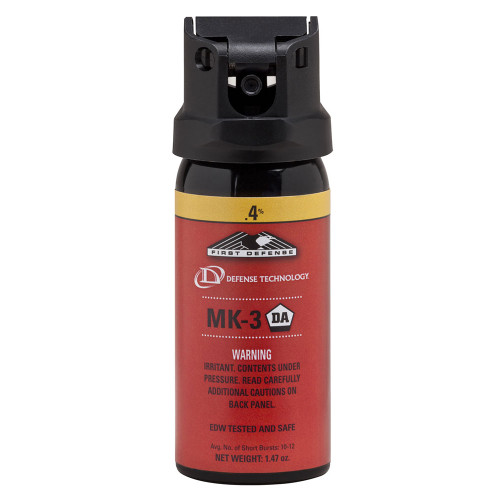 Def-Tec First Defense .4% MK-3 Cone OC Aerosol