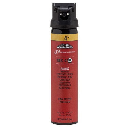 Def-Tec First Defense .4% MK-4 Foam OC Aerosol
