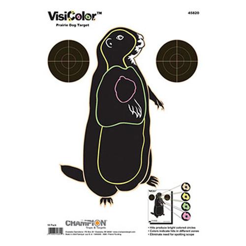 Champion Target VisiColor Prairie Dog - 10 Pack