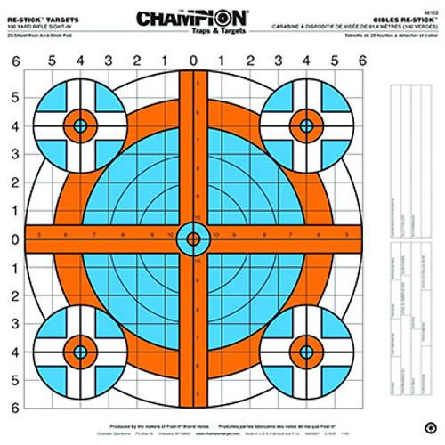 Champion Target Re-Stick 100-Yard Rifle Sight-In