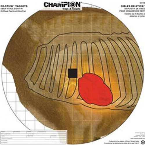 Champion Target Re-Stick Deer Vitals Sight