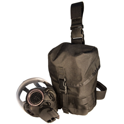 HSGI Gas Mask Pouch V2 - Black
