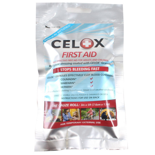 "Celox 5' x 3"" Hemostatic Dressing Roll"