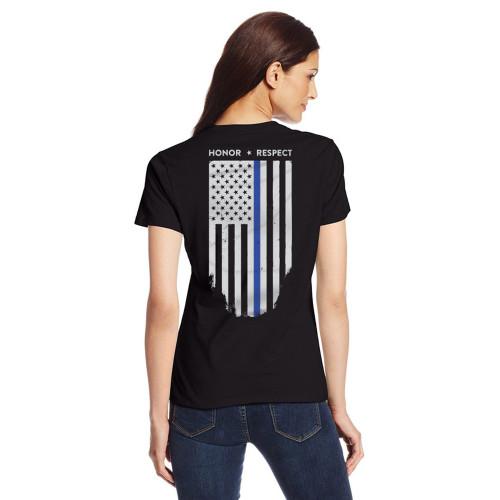 TBL AM Flag, Women Honor&Respect T-Shirt