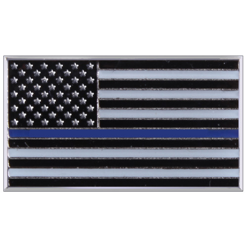 Rothco Thin Blue Line Flag Pin