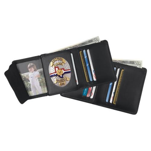 Strong Hidden Badge 6 Credit Card Slot Wallet