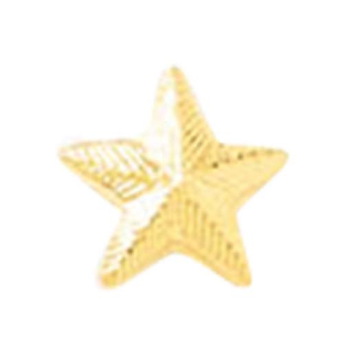 """Blackinton A4931 Gold 1/4"""" Star - No Back"""
