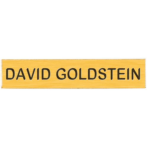 Blackinton J1 Gold Name Bar
