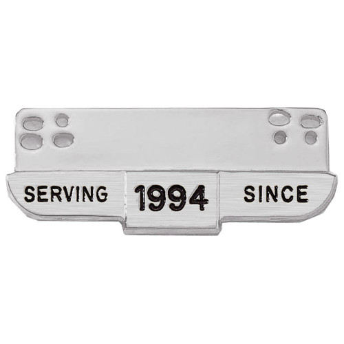 Blackinton J6 Silver Serving Since Bar