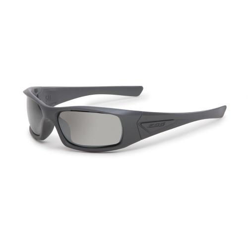 ESS 5B Gray Frame Sunglasses - Mirrored Gray Lenses