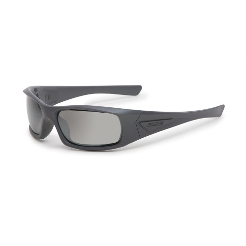 ESS 5B Gray Frame Sunglasses - Mirrored Gray Lenses