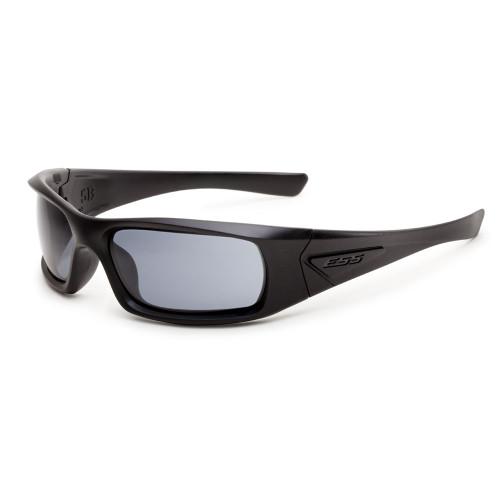 ESS 5B Black Frame Sunglasses - Smoke Lenses