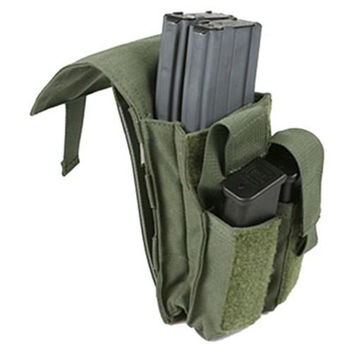 Protech Dual M4/Side Arm Magazine Pouch