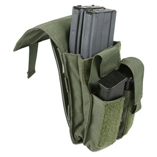 Protech Dual M4/Side Arm Magazine Pouch