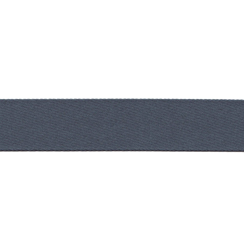 "French Blue Cloth Stripe - 100% Polyester - 1.5"" Width"