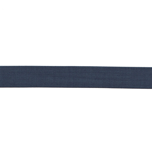 """French Blue Fused Poly/Wool Stripe - 1"""" Width"""