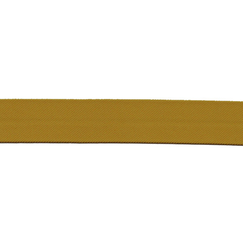 "Dark Gold Cloth Stripe - 1 1/4"" Width"
