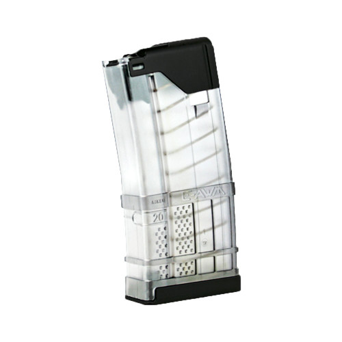 Lancer L5AWM 20rd Magazine - Translucent Clear