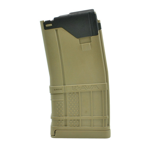 Lancer L5AWM 20rd Magazine -  Opaque Flat Dark Earth