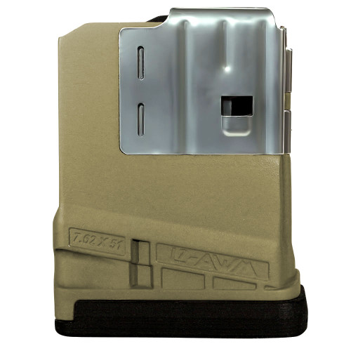 Lancer L7AWM 10rd Opaque Flat Dark Earth Magazine