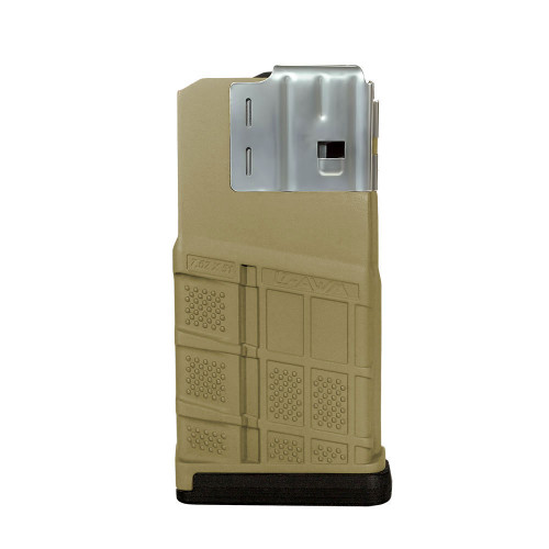 Lancer L7AWM 20rd  Opaque Flat Dark Earth Magazine