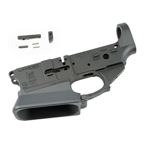 Lancer L15 Lower - Stripped w/Competition Magwell