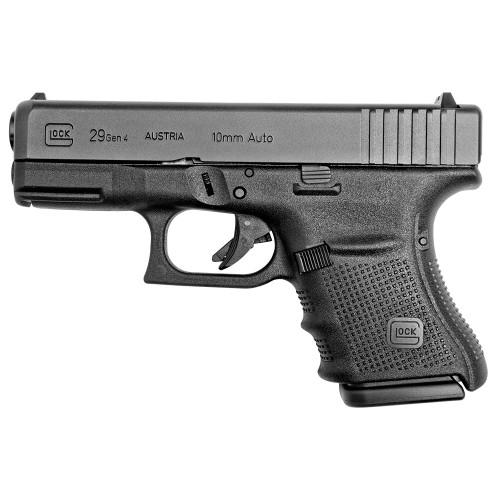 GLOCK 29 Gen4 Pistol w/Fixed Sights - 10rd