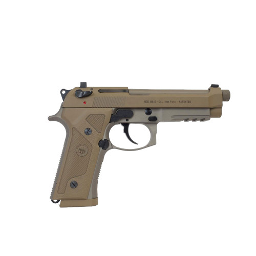 Beretta M9A3 Type G 9mm Pistol - Trijicon Sights - 3-10rd Mags