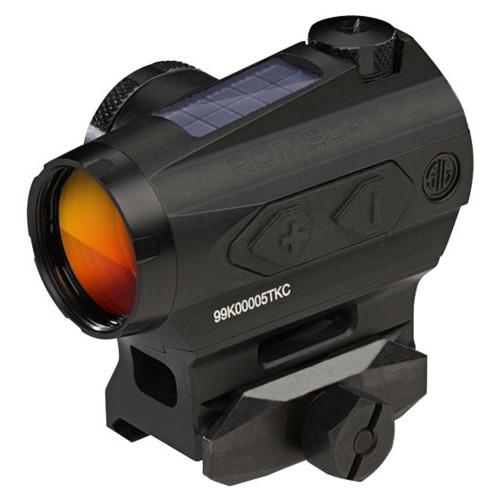 Sig Sauer Romeo4H Red Dot Sight, Ballistic Circle Plex, 0.5 MOA ADJ